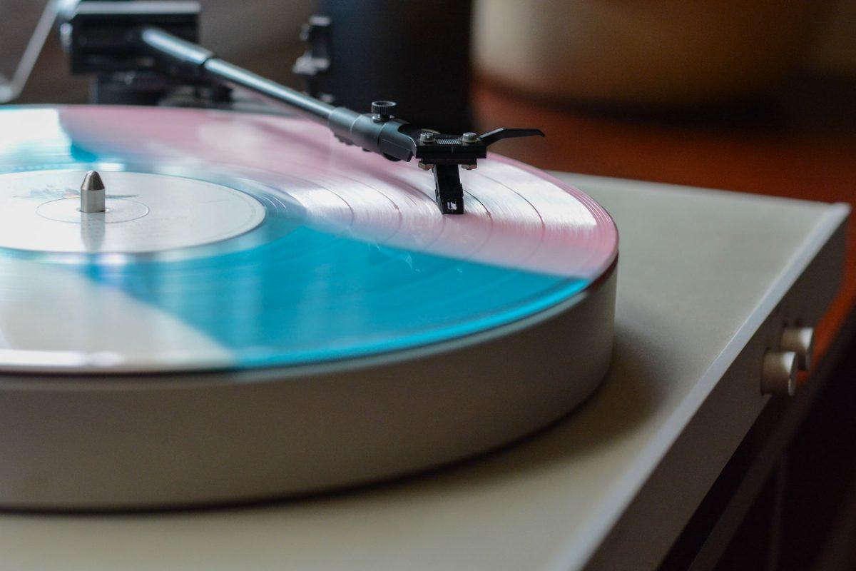 Vinyl Record Player as a Wedding Gift Idea