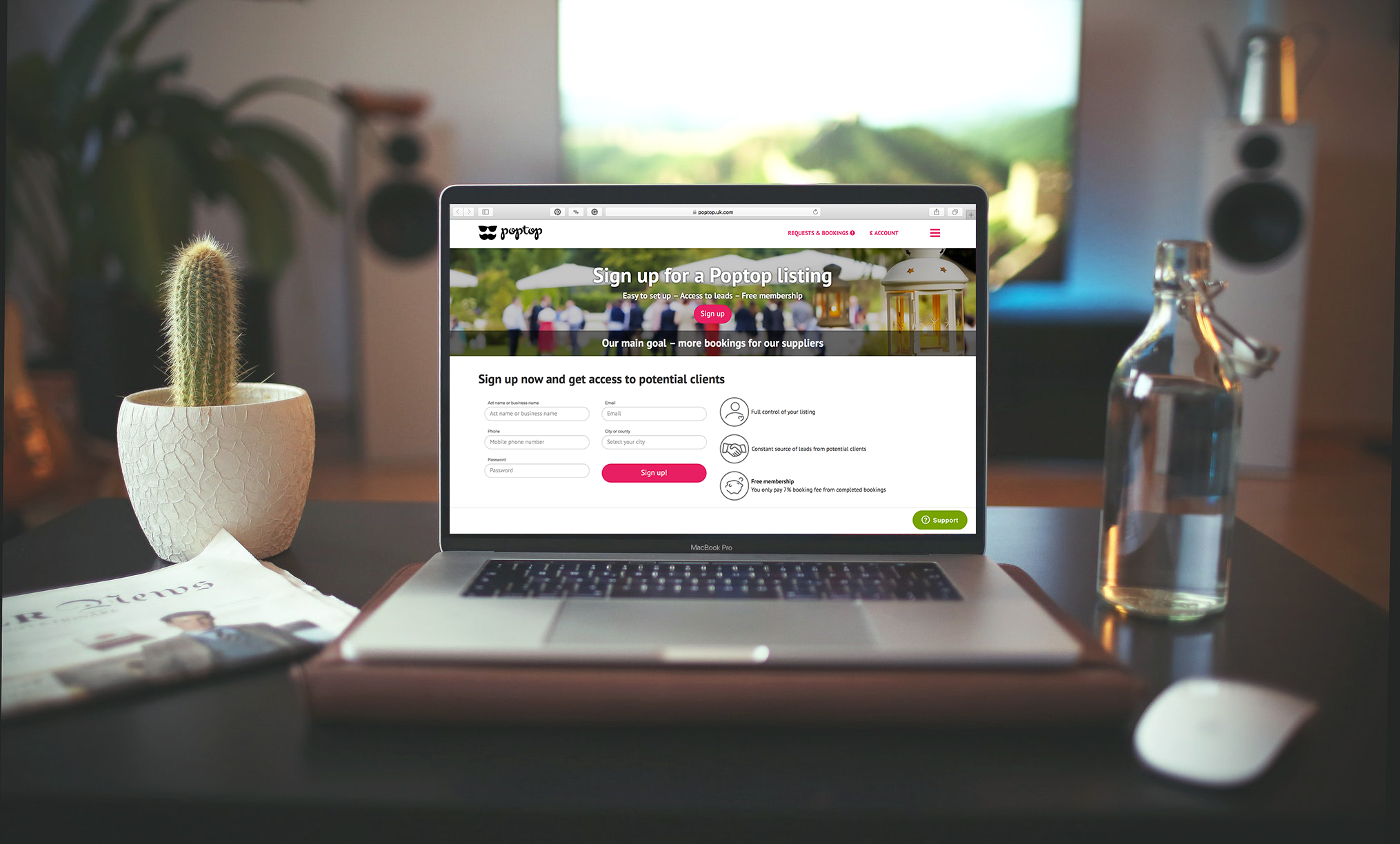 HOW TO GET MORE BOOKINGS: A GUIDE TO HELP MAKE YOUR POPTOP PROFILE MORE ATTRACTIVE TO A CLIENT
