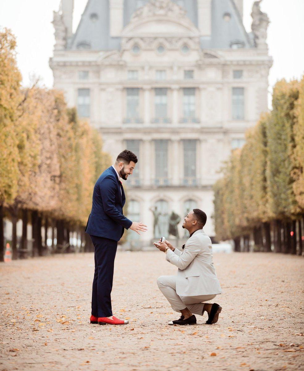 Paris proposal idea