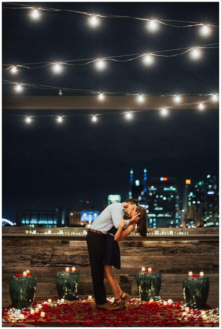 romantic proposal idea