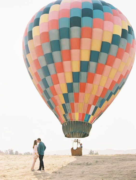 proposal air balloon idea