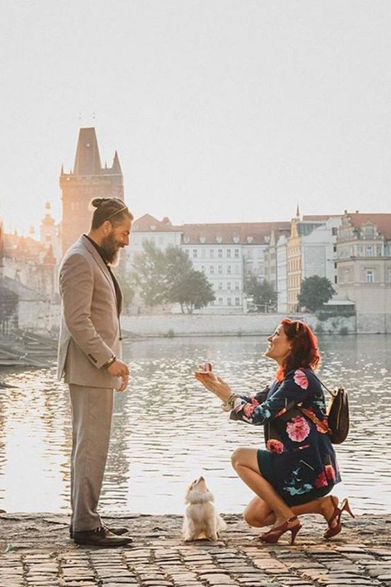 marriage proposal to a man