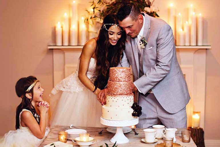 cheapest wedding cake ideas