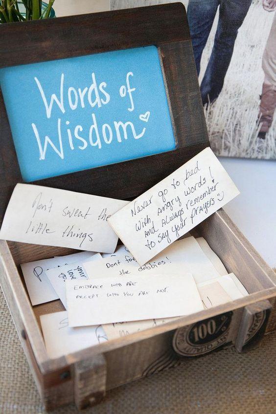 wedding guest book in Wedding Checklist process