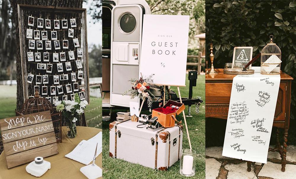 unique wedding guests book
