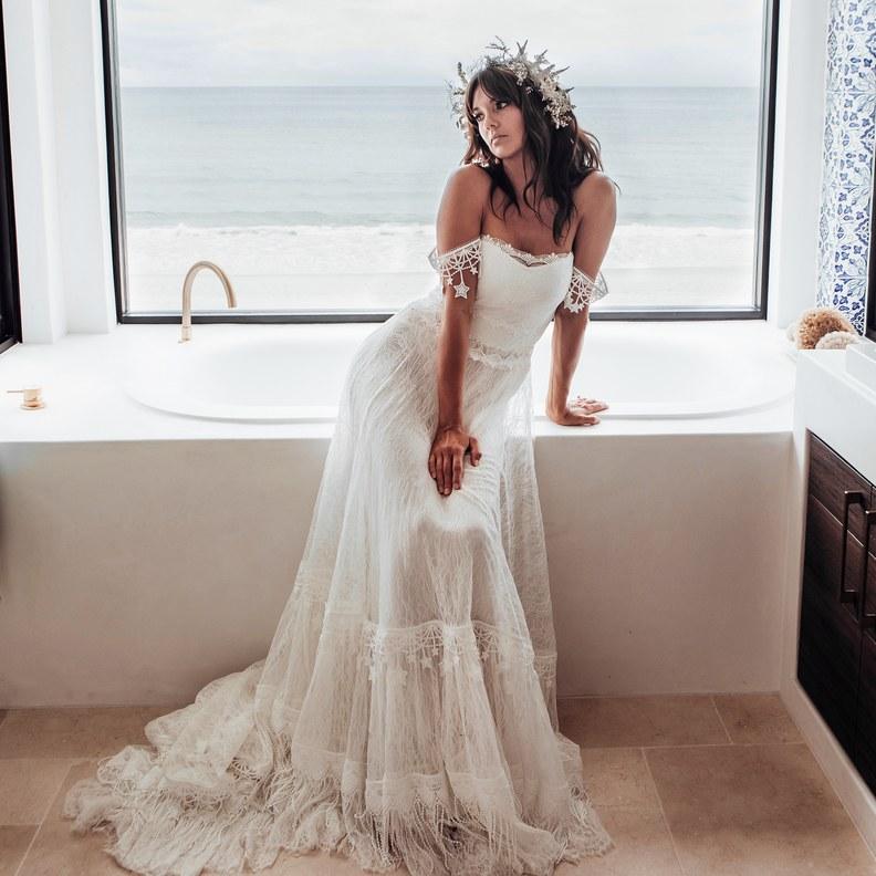 Wedding dress in Wedding Checklist process