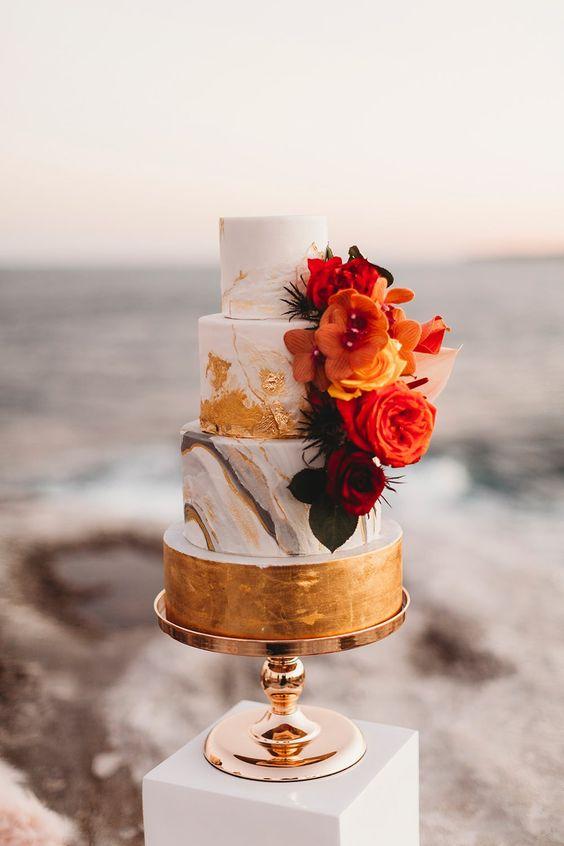 Wedding cake in Wedding Checklist process