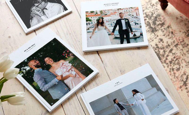 wedding photo album unique ideas